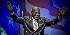 Herman Cain surreal