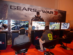 Gears of War 3 at The Gadget Show Live