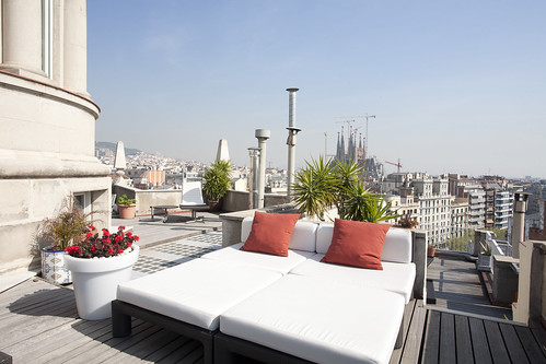 Roof Terrace - penthouse for sale Barcelona - Spain