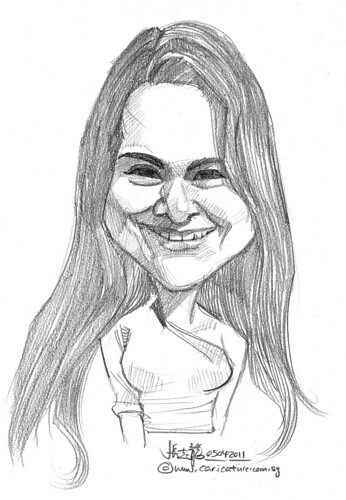 caricature in pencil - 23