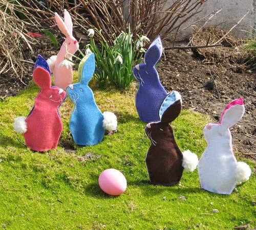 Army of Bunnies by twelfthzodiac