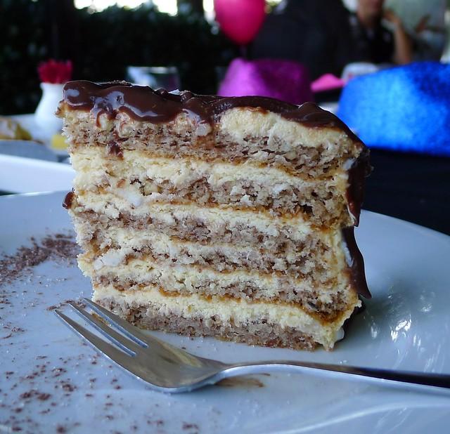 Choco&macadamia torte@La Linea