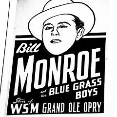 Bill Monroe and his Blue Grass Boys