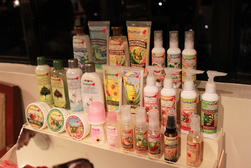 A Lot of Human Nature Skin Care, Body Care and Hair Care Products