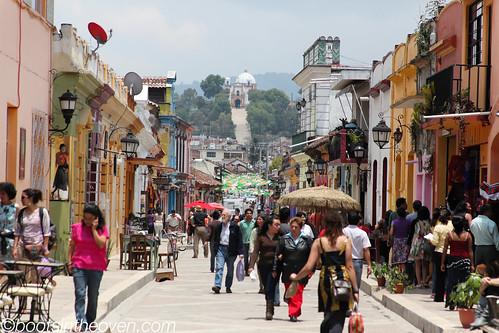 Pedestrianized Real de Guadalupe