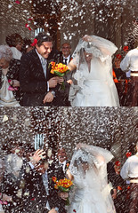 """Pluja d'arrs"" (""Lluvia de arroz"", ""Rice rain"") (Domonte Design) Tags: wedding man home girl marie groom bride sara chica rice mosaic boda reis mosaico uomo altea mann casamento om mariage rafa menina hochzeit jente fille homem bryllup hombre meisje arros riz noiva homme arroz riso ragazza nozze  braut noivo madchen nunta   bruden nuvia brautigam mariee xiqueta nuvi  moza rapaza brudgommen domonte"
