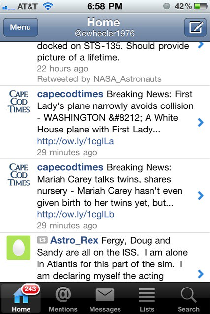 Ok @capecodtimes the first lady's plane story is