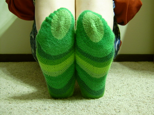 Concentric socks