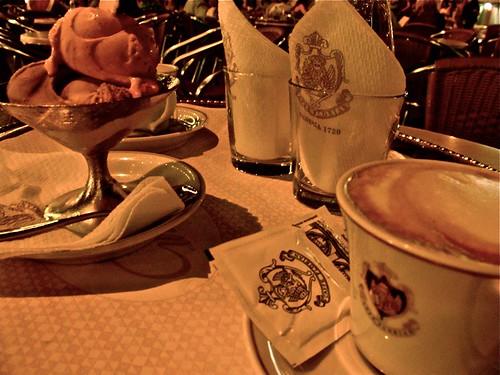 Gelato and Cappuccino