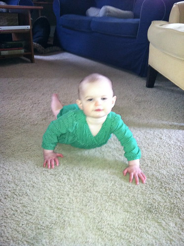 So close to crawling!