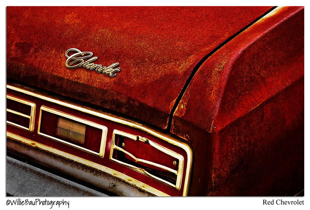 Red Chevrolet.