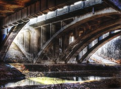 Notwithstanding (Paul B0udreau) Tags: bridge ontario canada reflection water graffiti highway arch digitalart samsung niagara master layer rowing stcatharines kodachrome sunrays legacy henley hdr picnik hypothetical martindalepond tmoa photomatix vividimagination tonemapping musicphoto newreality sharingart maxfudge awardtree samsungmaster redmatrix fujifilmfinepixs1500 trolledproud trollieexcellence crazygeniuses pastfeaturedwinner paulboudreauphotography vividimaginationmasterwork kurtpeiserexcellence