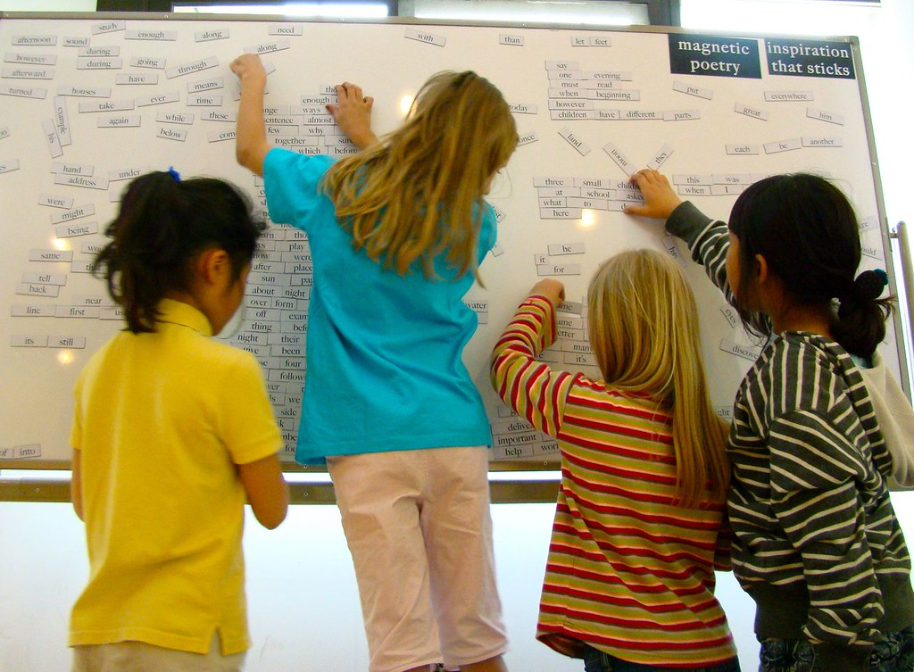 Giant Magnetic Poetry Board
