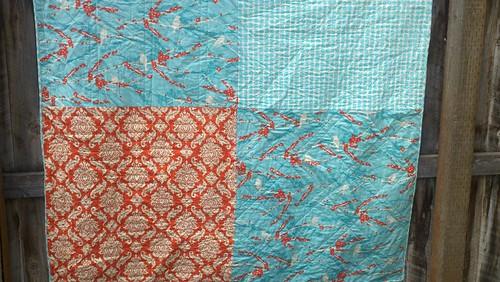 Aviary 2 quilt