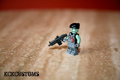 BrickArms HAC: Trollin' (~Entropy~) Tags: castle lego bap assault prototype troll heavy carbine hac brickarms scarh