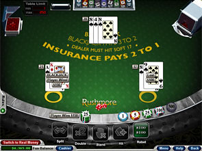 Basic Blackjack Win