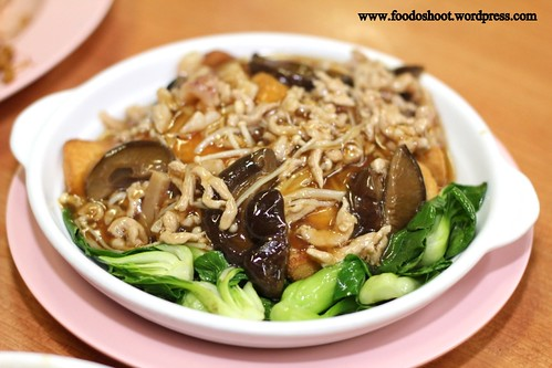 Vegetable with Golden Mushroom (Medium) - $12