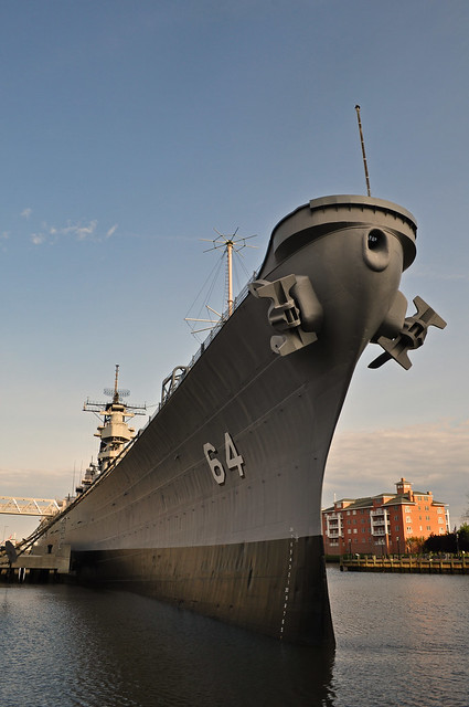 The Battleship Wisconsin