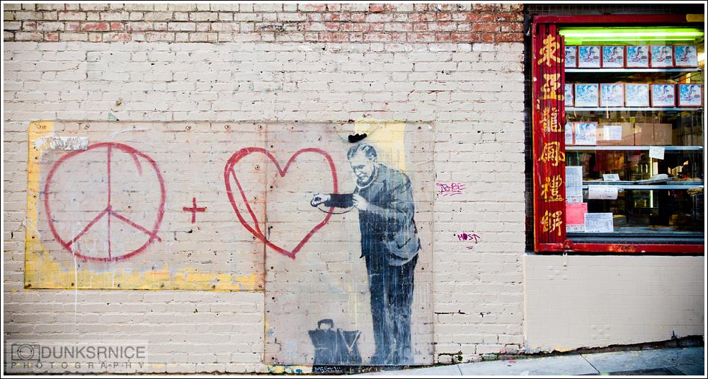 Banksy, San Francisco Ca.