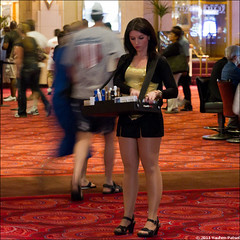 MGM Grand (eugene.photo) Tags: usa girl legs lasvegas nevada casino april pantyhose mgmgrand 2011