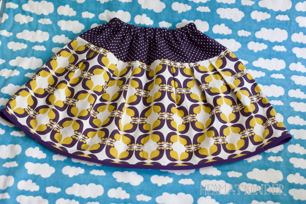 purple Owl Skirt