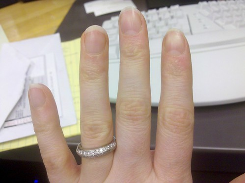 Pregnancy nails!