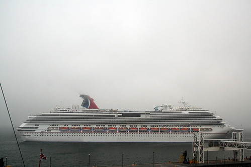 Carnival Splendor - Ready to Scooch Sideways to Dock