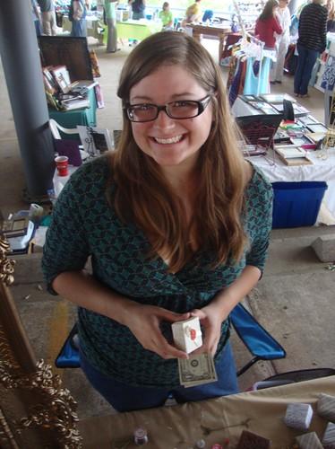 Nicole Nezat, Texas Ave Maker's Fair, Spring 2011 by trudeau
