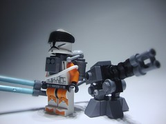 Swordsman Unit and AIDS (jestin pern) Tags: fiction light trooper star lego space security science sabre saber cannon laser fi lightsaber wars blade clone defense turret sci blaster