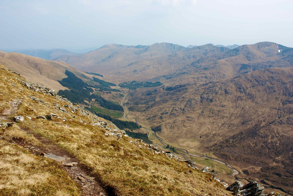 Glen Shiel and the South Shiel Ridge