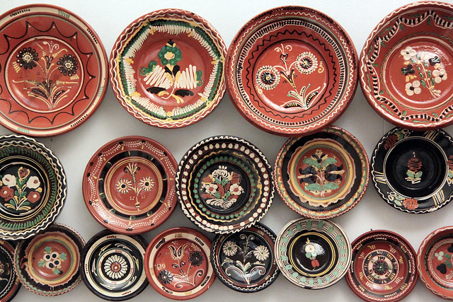 Ceramics - Sárköz region, second half of 19th century
