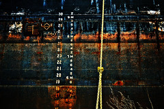 Rust and numbers (AshtonPal) Tags: toronto rust numbers thedocks lakeontario downtowntoronto fgc shipchannel blogto portlands torontoist cherryst urbantoronto canadianminer flickrgolfclub april2011 dreamscapesoftoronto n