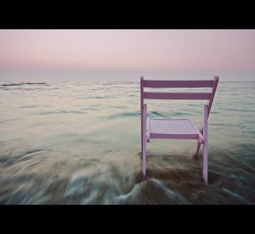 Pink on the horizon...