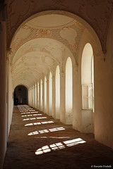 Kreuzgang im Kloster Buxheim bei Memmingen (dorena-wm) Tags: light shadow window bayern bavaria licht arches cloister schatten kloster bogen kreuzgang gewlbe memmingen buxheim fentser abigfave crosscoat mygearandme mygearandmepremium mygearandmebronze mygearandmesilver mygearandmegold dorenawm mygearandmeplatinum artistoftheyearlevel4