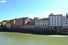 DSC_0427 (6) (pjpink) Tags: italy reflection water river florence spring tuscany firenze arno 2011 pjpink