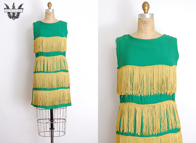 emeraldfringedress