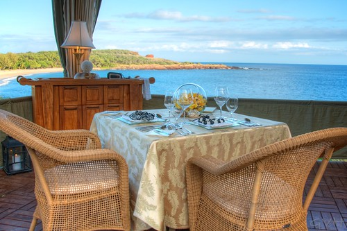 Private Ocean Hale dining