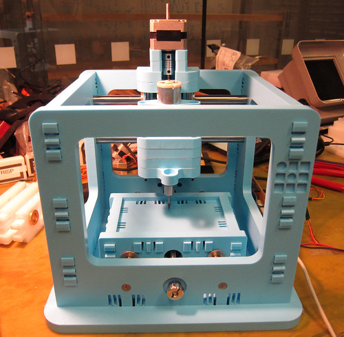 MIT designed snap fit CNC machine