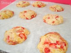 Strawberry Shortcake Cookies (DolceDanielle) Tags: summer food cookies dessert spring strawberry martha strawberries stewart shortcake