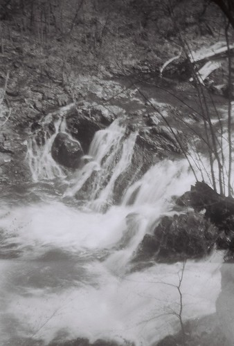 Poestenkill Mt. Ida Falls 2, shot with Agfa Chief