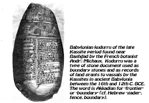 Kudurru Stones & Abrahamic Covenant