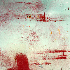 Air raid (daliborlev) Tags: abstract texture metal square rust paint urbandecay rusty surface planes oxidation damage garagedoor mundanedetail modrice modice ormigratingbirds