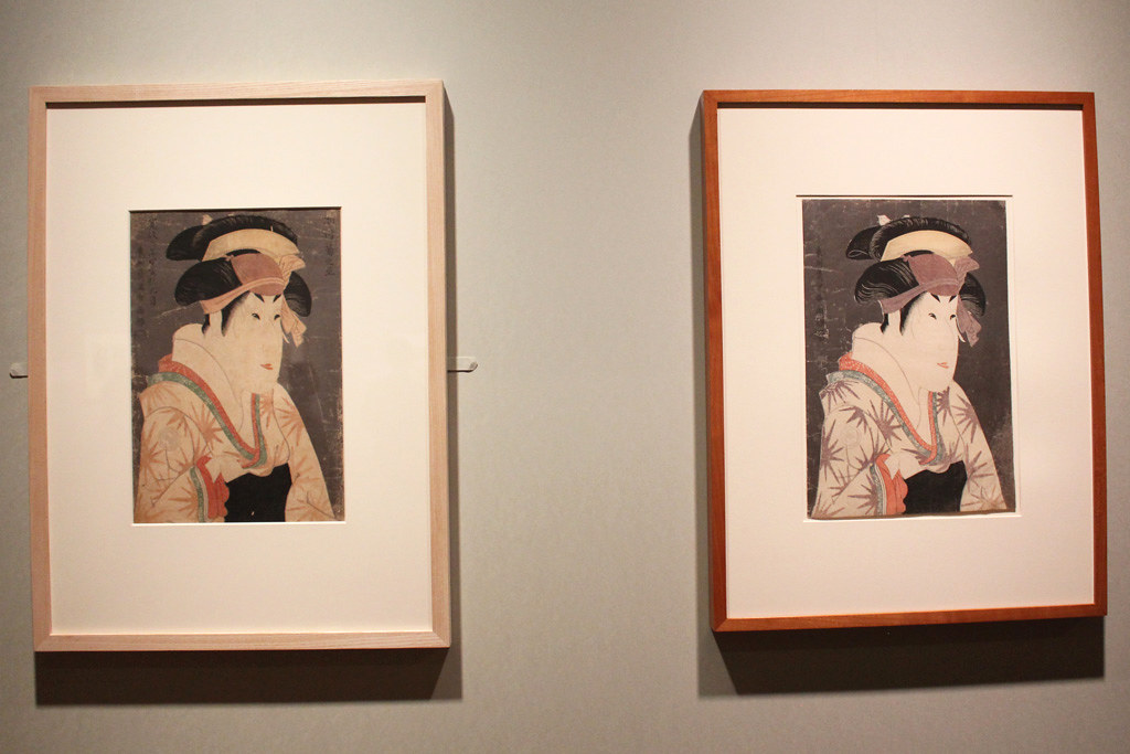 The special exhibition Sharaku that started on may 1st (4)