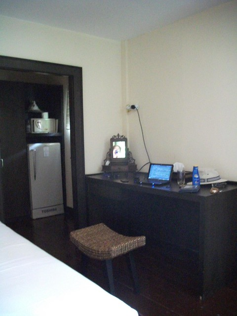 Inside the hotel in Pattaya
