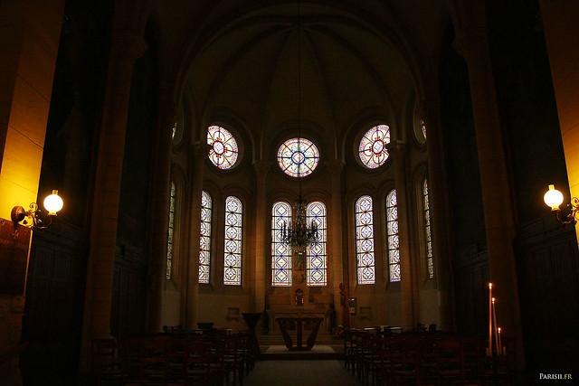 Chapelle derrière l'abside de ND de la Croix
