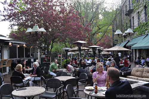 Patio at WA Frost & Co ~ St Paul, MN