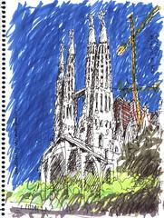 2010_Barcelona 01 (Eduardo Di Clérico) Tags: croquis barcelonasketch