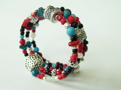 http://www.etsy.com/listing/74596264/beaded-southwestern-inspired-layered by mSs Distinctive Designs Studio