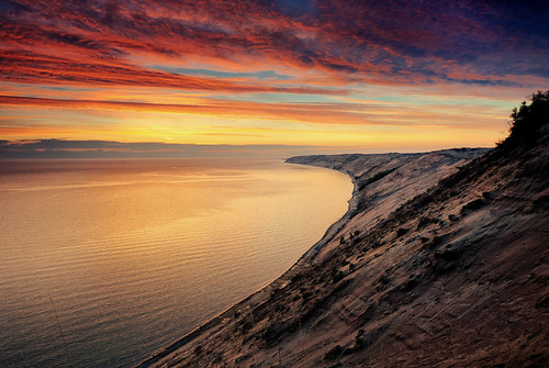"""Superior Dawn"" - Grand Sable Dunes , Pictured Rocks National Lakeshore"