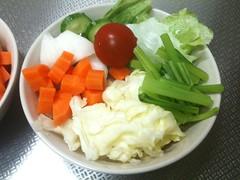 朝食サラダ(2011/5/25)